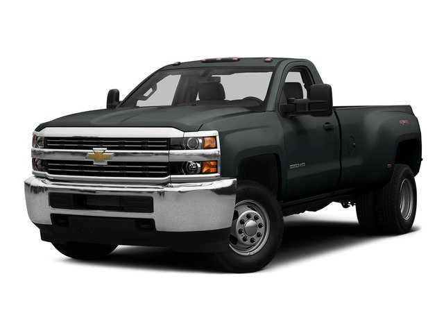 Blue Granite Metallic 2015 Chevrolet Silverado 3500HD Pictures Silverado 3500HD Regular Cab LT 4WD photos front view