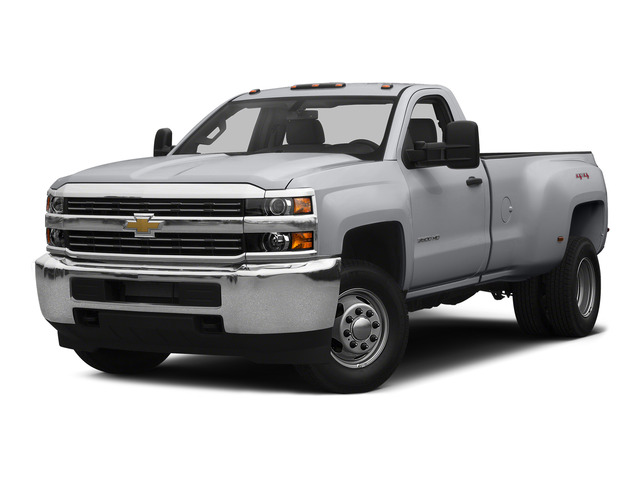 Silver Ice Metallic 2015 Chevrolet Silverado 3500HD Pictures Silverado 3500HD Regular Cab LT 4WD photos front view