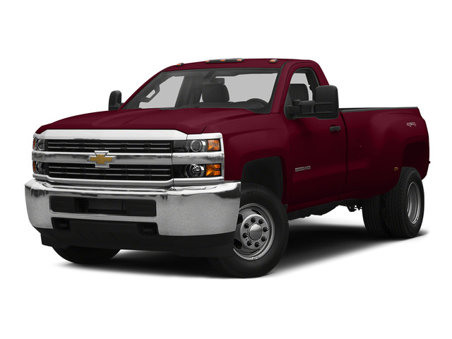 Deep Ruby Metallic 2015 Chevrolet Silverado 3500HD Pictures Silverado 3500HD Regular Cab LT 4WD photos front view