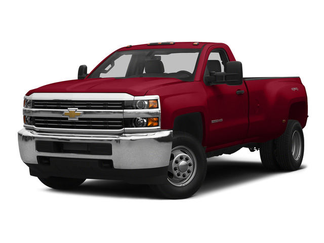 Victory Red 2015 Chevrolet Silverado 3500HD Pictures Silverado 3500HD Regular Cab LT 4WD photos front view