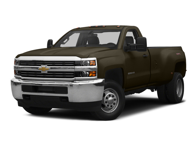 Brownstone Metallic 2015 Chevrolet Silverado 3500HD Pictures Silverado 3500HD Regular Cab LT 4WD photos front view