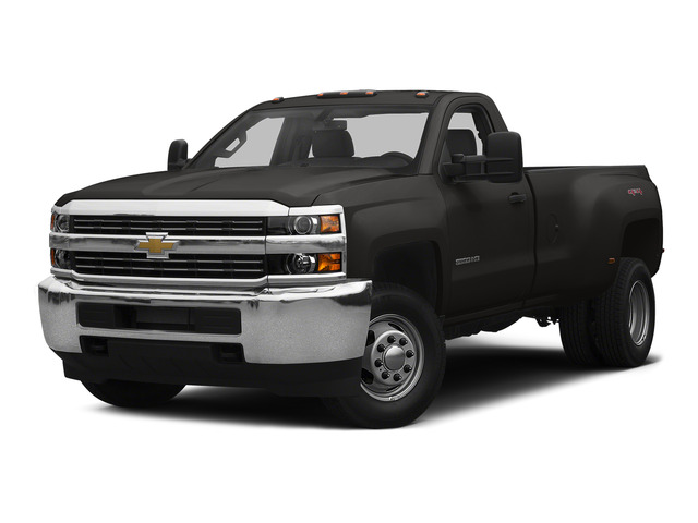 Tungsten Metallic 2015 Chevrolet Silverado 3500HD Pictures Silverado 3500HD Regular Cab LT 4WD photos front view