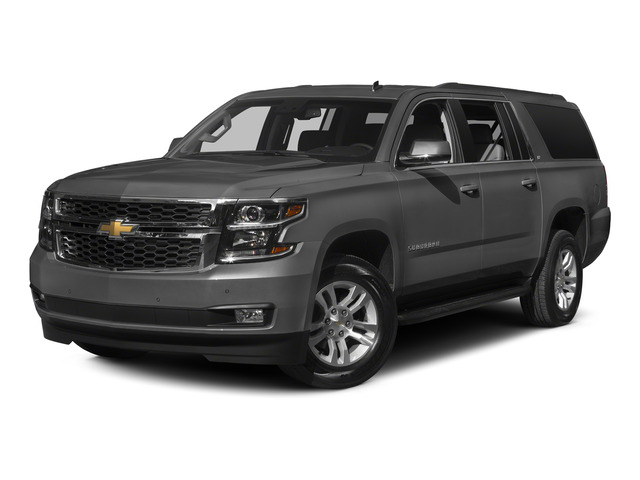 Slate Grey Metallic 2015 Chevrolet Suburban Pictures Suburban Utility 4D LT 4WD V8 photos front view