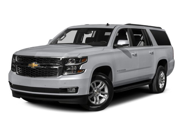 Silver Ice Metallic 2015 Chevrolet Suburban Pictures Suburban Utility 4D LT 4WD V8 photos front view