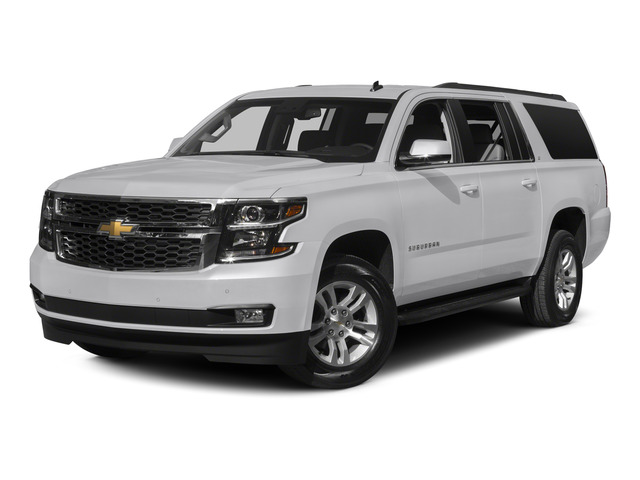 Summit White 2015 Chevrolet Suburban Pictures Suburban Utility 4D LT 4WD V8 photos front view