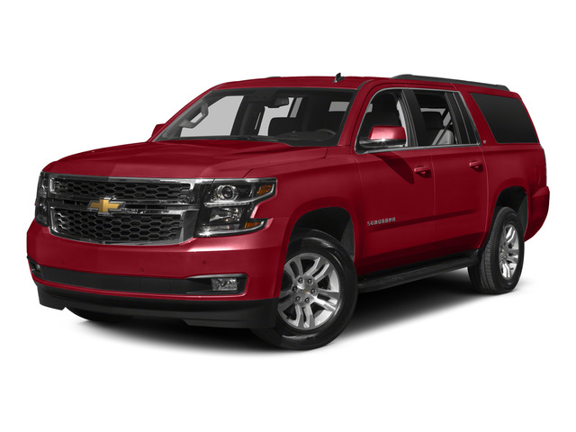 Crystal Red Tintcoat 2015 Chevrolet Suburban Pictures Suburban Utility 4D LT 4WD V8 photos front view