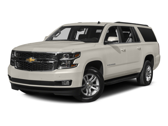 White Diamond Tricoat 2015 Chevrolet Suburban Pictures Suburban Utility 4D LT 4WD V8 photos front view
