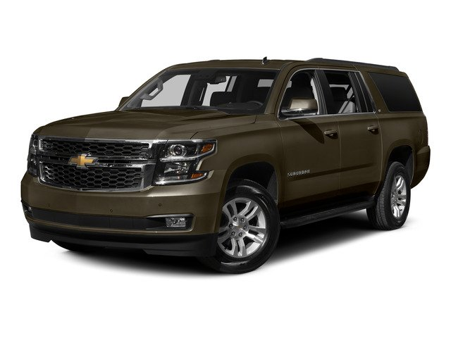 Brownstone Metallic 2015 Chevrolet Suburban Pictures Suburban Utility 4D LT 4WD V8 photos front view