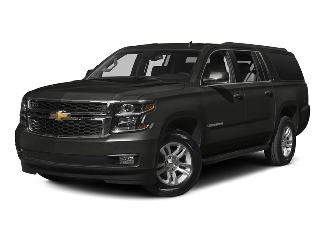 Tungsten Metallic 2015 Chevrolet Suburban Pictures Suburban Utility 4D LT 4WD V8 photos front view