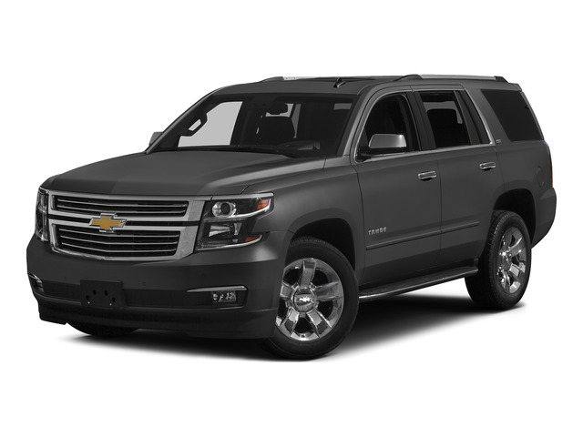 Slate Grey Metallic 2015 Chevrolet Tahoe Pictures Tahoe Utility 4D LT 4WD V8 photos front view