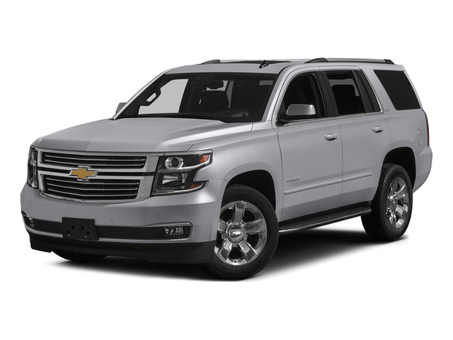 Silver Ice Metallic 2015 Chevrolet Tahoe Pictures Tahoe Utility 4D LT 4WD V8 photos front view