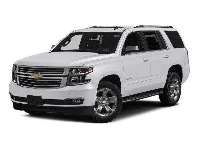 Summit White 2015 Chevrolet Tahoe Pictures Tahoe Utility 4D LT 4WD V8 photos front view