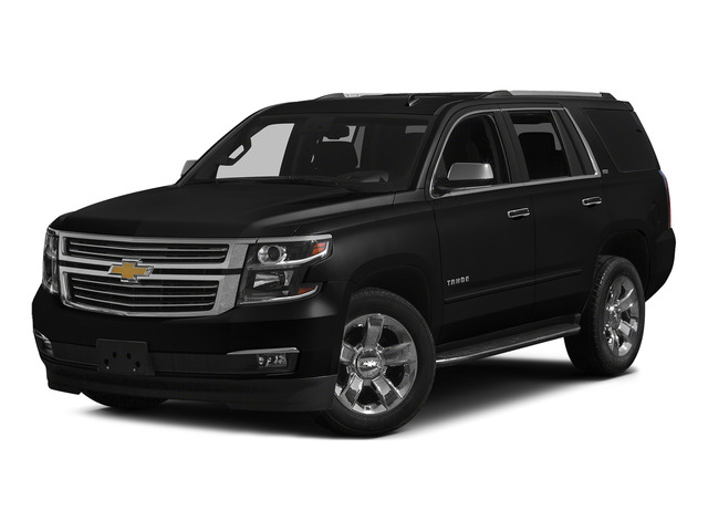 Black 2015 Chevrolet Tahoe Pictures Tahoe Utility 4D LT 4WD V8 photos front view