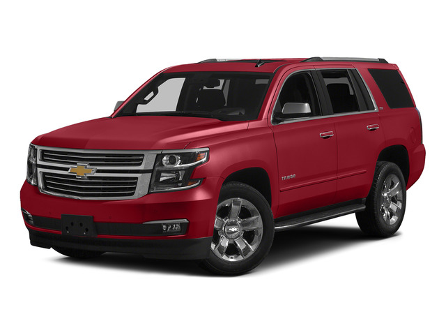 Crystal Red Tintcoat 2015 Chevrolet Tahoe Pictures Tahoe Utility 4D LT 4WD V8 photos front view