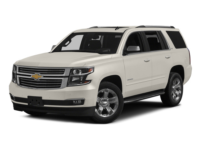 White Diamond Tricoat 2015 Chevrolet Tahoe Pictures Tahoe Utility 4D LT 4WD V8 photos front view