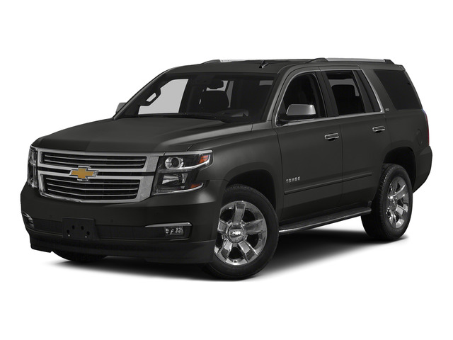 Tungsten Metallic 2015 Chevrolet Tahoe Pictures Tahoe Utility 4D LT 4WD V8 photos front view