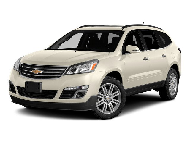 White Diamond Tricoat 2015 Chevrolet Traverse Pictures Traverse Utility 4D 2LT AWD V6 photos front view
