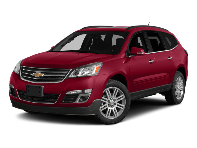 Siren Red Tintcoat 2015 Chevrolet Traverse Pictures Traverse Utility 4D 2LT AWD V6 photos front view