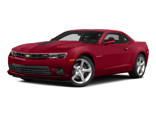 Red Hot 2015 Chevrolet Camaro Pictures Camaro Coupe 2D SS V8 photos front view