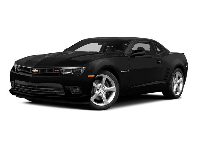 Black 2015 Chevrolet Camaro Pictures Camaro Coupe 2D SS V8 photos front view