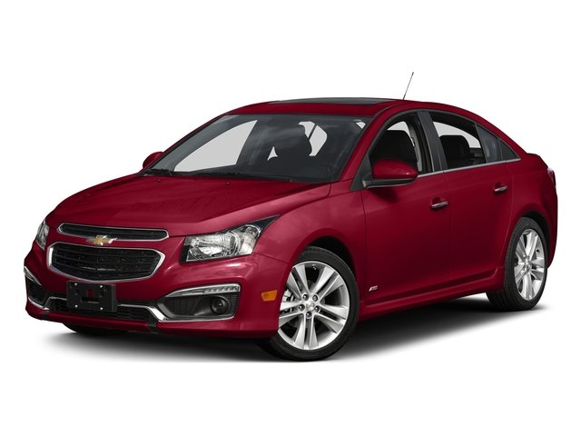 Siren Red Tintcoat 2015 Chevrolet Cruze Pictures Cruze Sedan 4D 2LT I4 Turbo photos front view