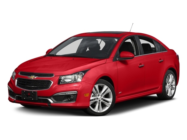 Red Hot 2015 Chevrolet Cruze Pictures Cruze Sedan 4D 2LT I4 Turbo photos front view