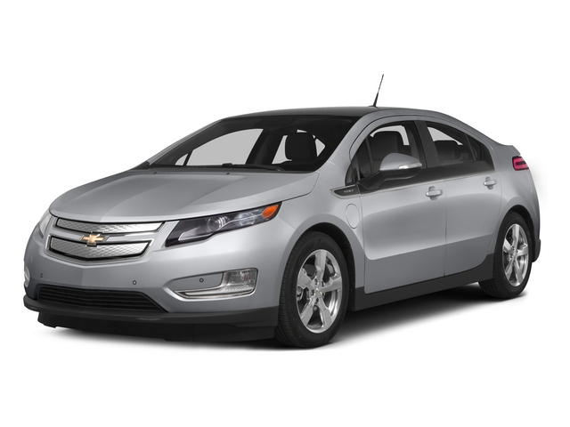 Silver Ice Metallic 2015 Chevrolet Volt Pictures Volt Sedan 4D Premium I4 Electric photos front view