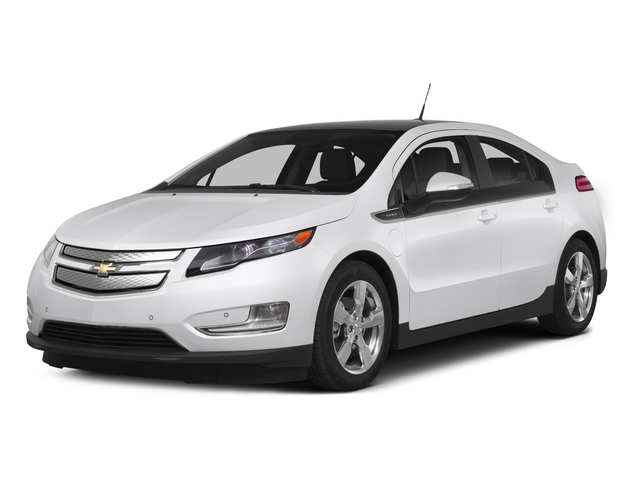 Summit White 2015 Chevrolet Volt Pictures Volt Sedan 4D Premium I4 Electric photos front view
