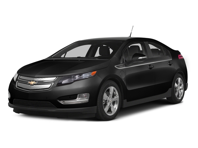 Black 2015 Chevrolet Volt Pictures Volt Sedan 4D Premium I4 Electric photos front view