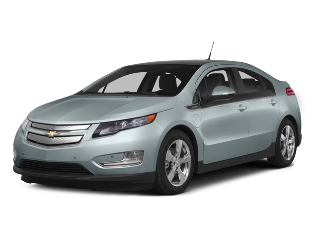 Silver Topaz Metallic 2015 Chevrolet Volt Pictures Volt Sedan 4D Premium I4 Electric photos front view