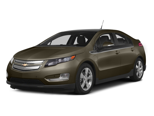 Brownstone Metallic 2015 Chevrolet Volt Pictures Volt Sedan 4D Premium I4 Electric photos front view