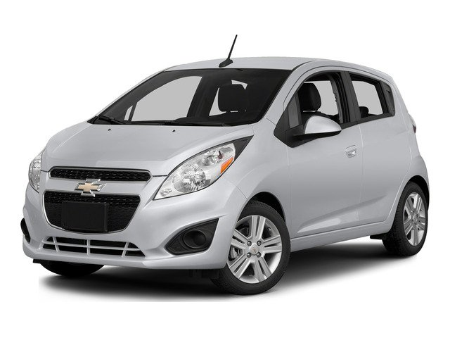 Silver Ice 2015 Chevrolet Spark Pictures Spark Hatchback 5D LS I4 photos front view