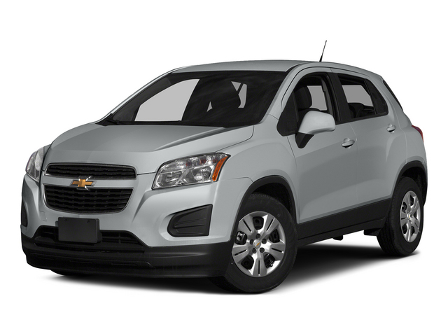 Silver Ice Metallic 2015 Chevrolet Trax Pictures Trax Utility 4D LS AWD I4 Turbo photos front view