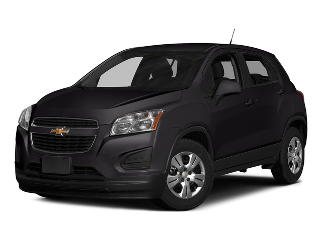Black Granite Metallic 2015 Chevrolet Trax Pictures Trax Utility 4D LS AWD I4 Turbo photos front view