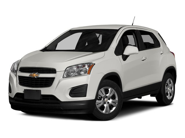 Summit White 2015 Chevrolet Trax Pictures Trax Utility 4D LS AWD I4 Turbo photos front view