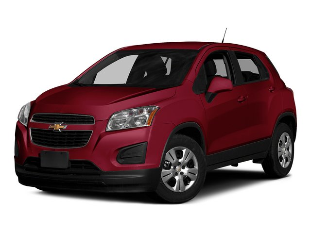 Ruby Red Metallic 2015 Chevrolet Trax Pictures Trax Utility 4D LS AWD I4 Turbo photos front view