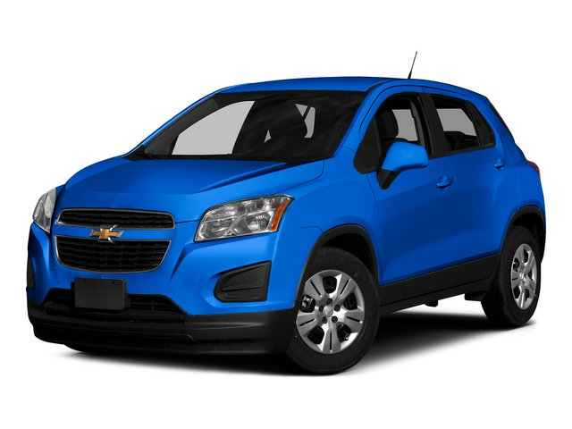 Brilliant Blue Metallic 2015 Chevrolet Trax Pictures Trax Utility 4D LS AWD I4 Turbo photos front view