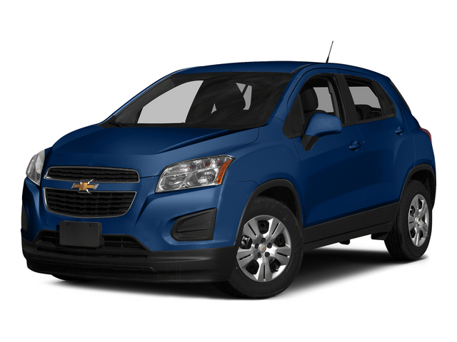 Blue Topaz Metallic 2015 Chevrolet Trax Pictures Trax Utility 4D LS AWD I4 Turbo photos front view