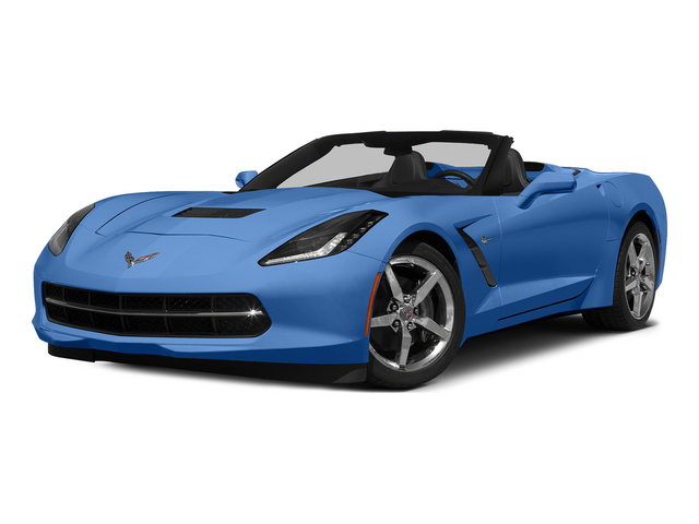 Laguna Blue Tintcoat 2015 Chevrolet Corvette Pictures Corvette Convertible 2D Z51 2LT V8 photos front view