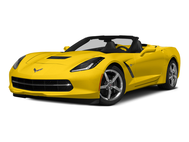 Velocity Yellow Tintcoat 2015 Chevrolet Corvette Pictures Corvette Convertible 2D Z51 3LT V8 photos front view