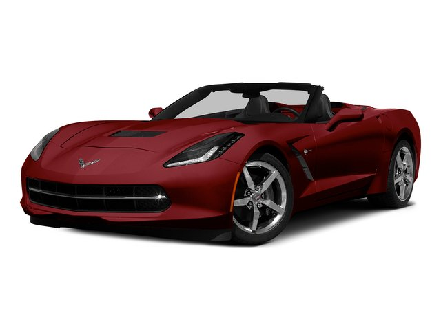 Crystal Red Tintcoat 2015 Chevrolet Corvette Pictures Corvette Convertible 2D Z51 LT V8 photos front view