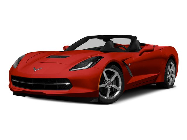 Torch Red 2015 Chevrolet Corvette Pictures Corvette Convertible 2D Z51 LT V8 photos front view
