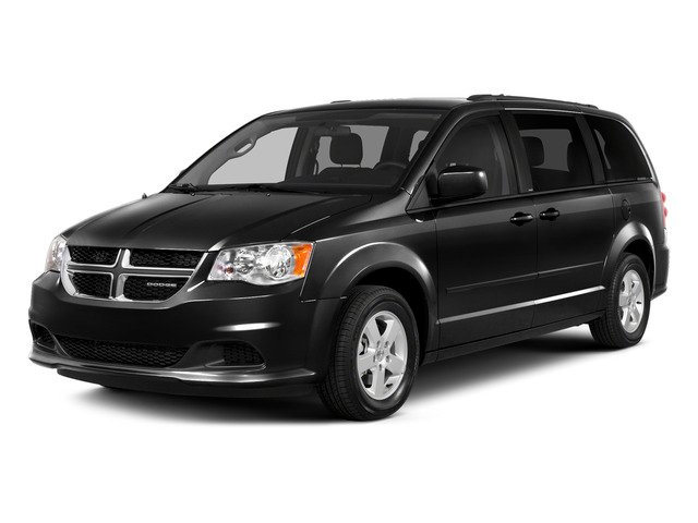 Brilliant Black Crystal Pearlcoat 2015 Dodge Grand Caravan Pictures Grand Caravan Grand Caravan SE V6 photos front view
