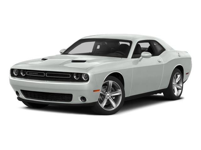 Bright White Clearcoat 2015 Dodge Challenger Pictures Challenger Coupe 2D R/T Plus V8 photos front view