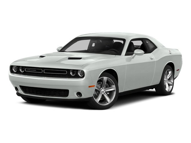 Bright White Clearcoat 2015 Dodge Challenger Pictures Challenger Coupe 2D R/T Scat Pack V8 photos front view