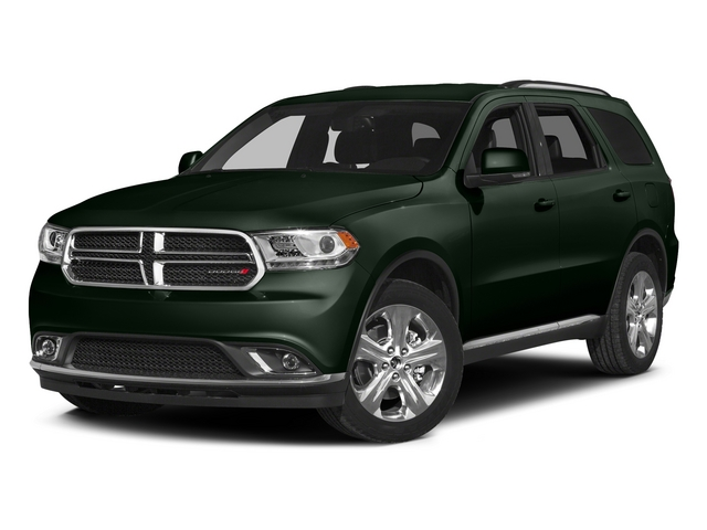 Black Forest Green Pearlcoat 2015 Dodge Durango Pictures Durango Utility 4D Limited 2WD V6 photos front view