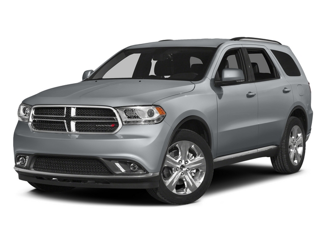 Billet Silver Metallic Clearcoat 2015 Dodge Durango Pictures Durango Utility 4D Limited 2WD V6 photos front view