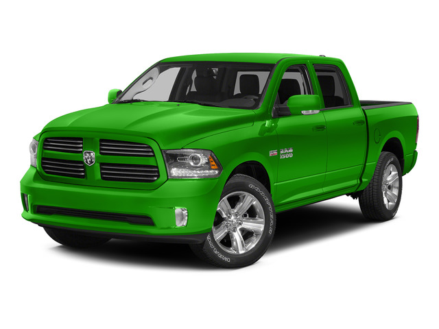 Hills Green 2015 Ram Truck 1500 Pictures 1500 Crew Cab SLT 4WD photos front view