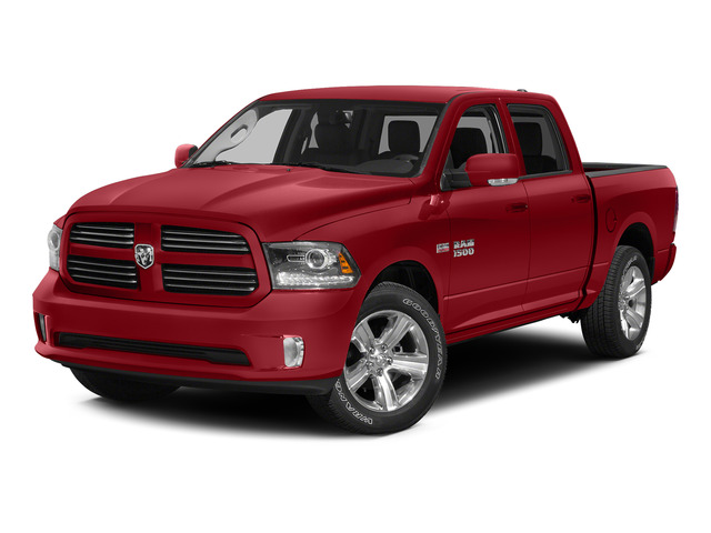 Bright Red 2015 Ram Truck 1500 Pictures 1500 Crew Cab SSV 4WD photos front view