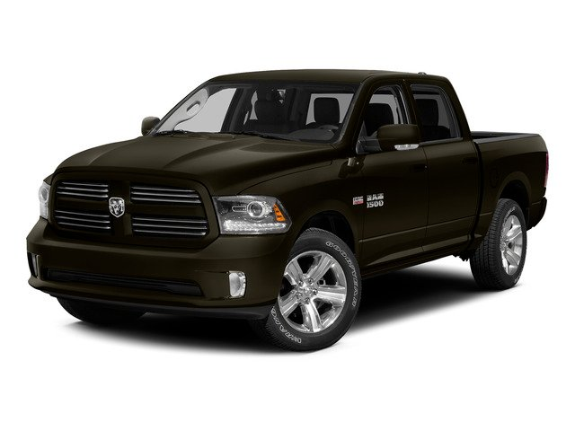 Dark Brown 2015 Ram Truck 1500 Pictures 1500 Crew Cab Express 4WD photos front view